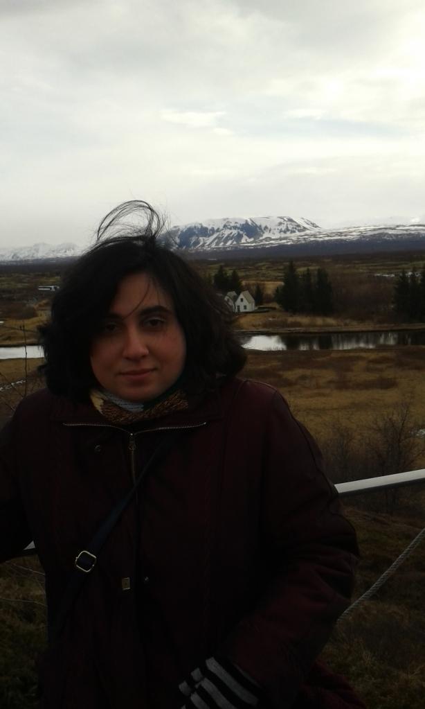 Autorul, în Valea Thingvelllir
