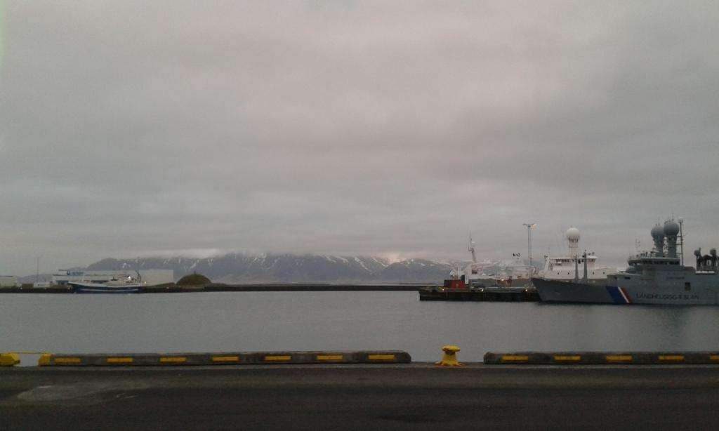 Portul din Reykjavik