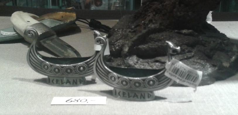 Reykjavik: suveniruri cu tematică vikingă