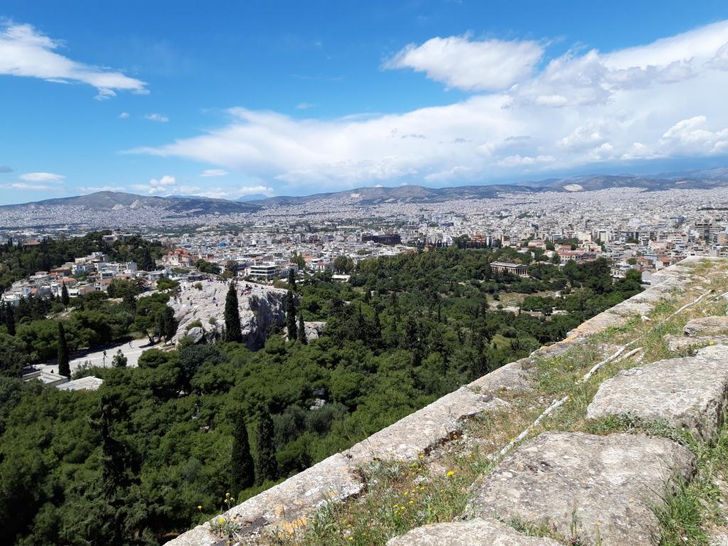 Areopagul și Agora veche