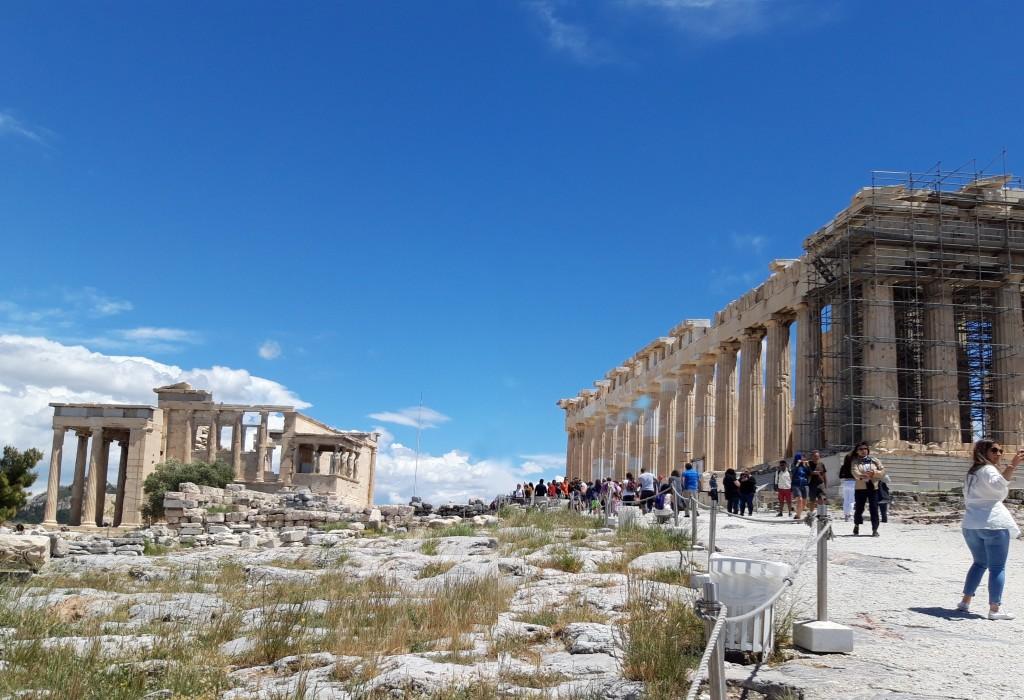 Parthenonul și Erehteionul