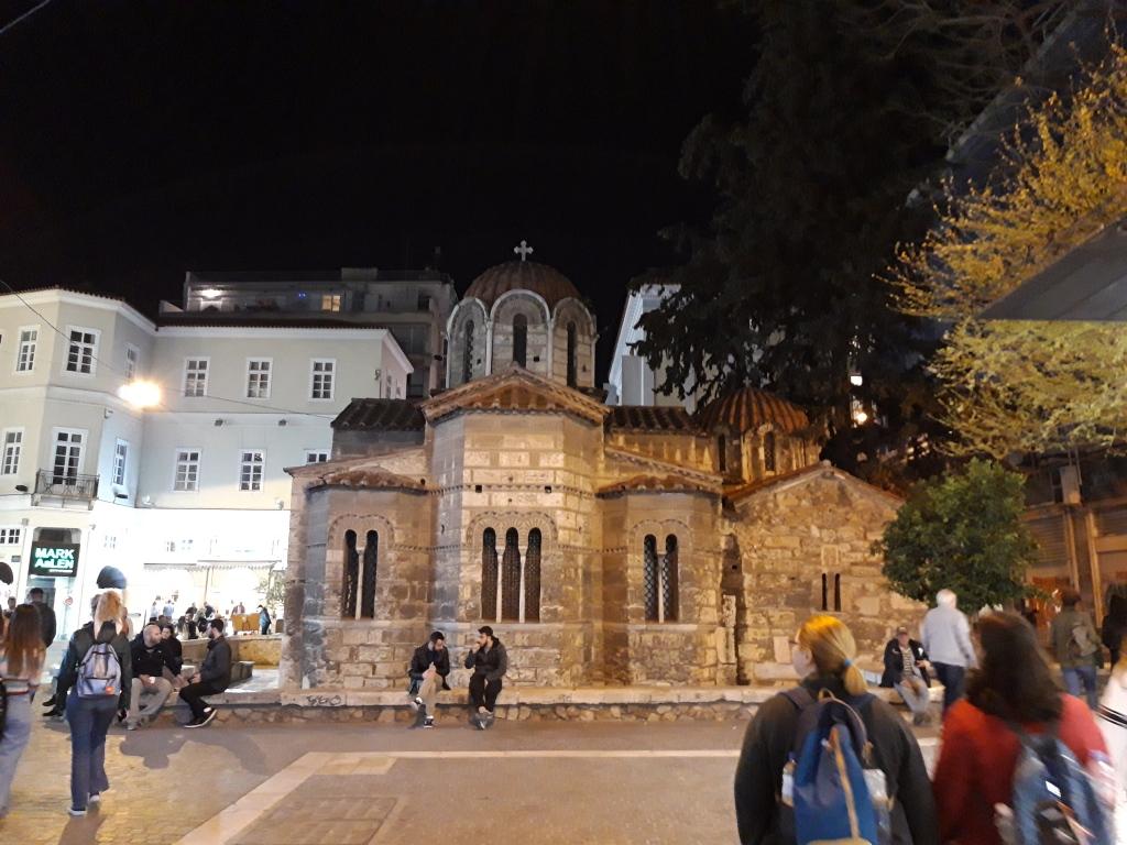 Biserică bizantină din Atena