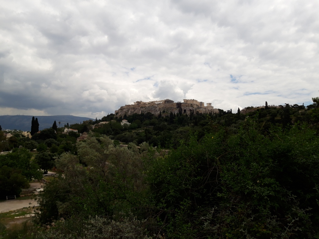 Acropole și Agora veche