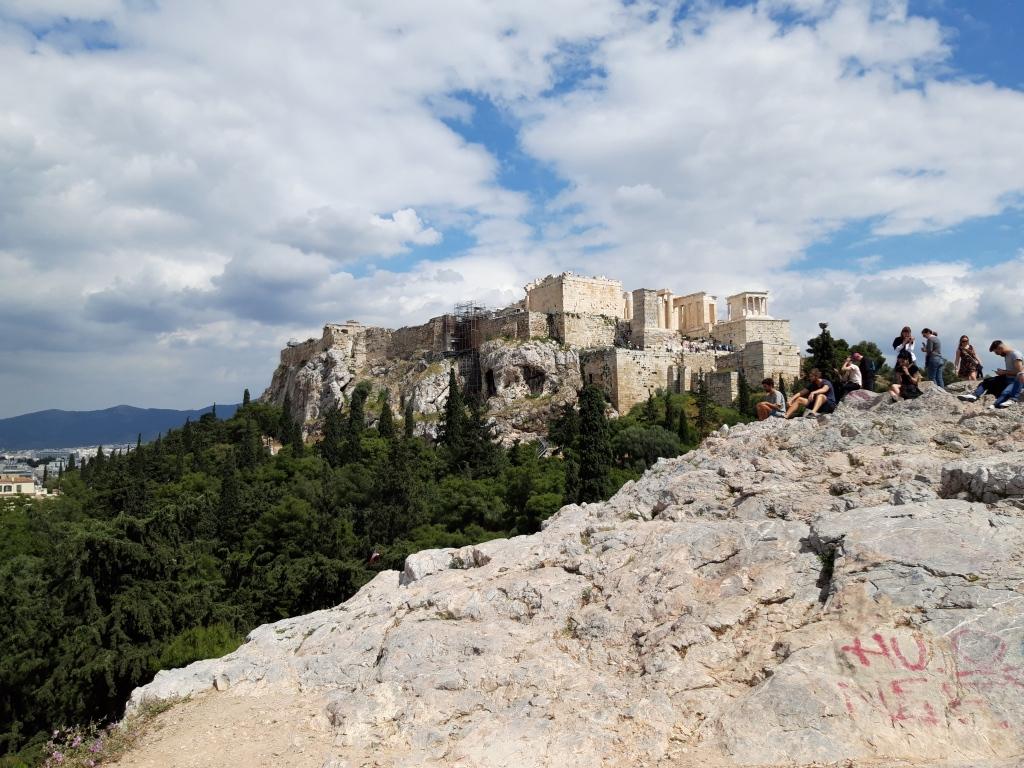 Areopagul și Acropole